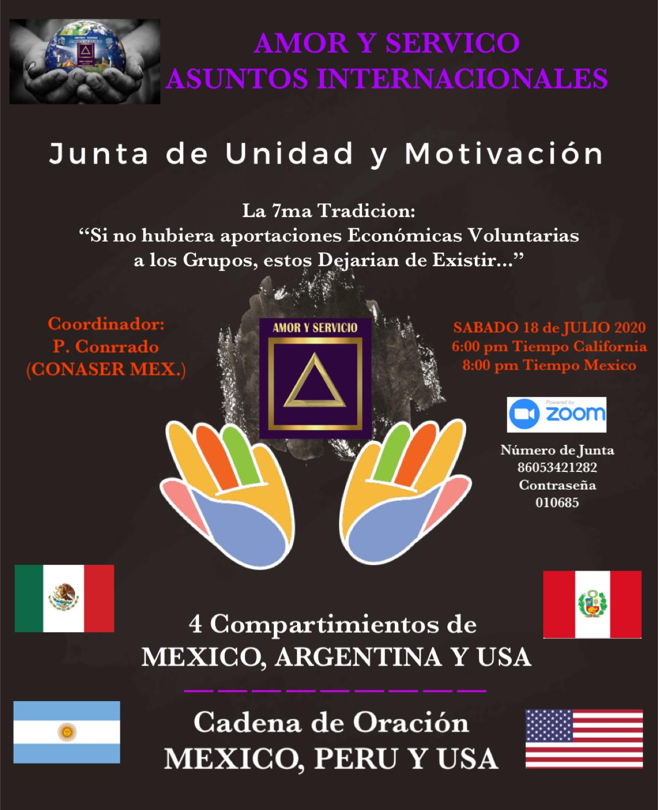 Junta de Unidad y Motivacion